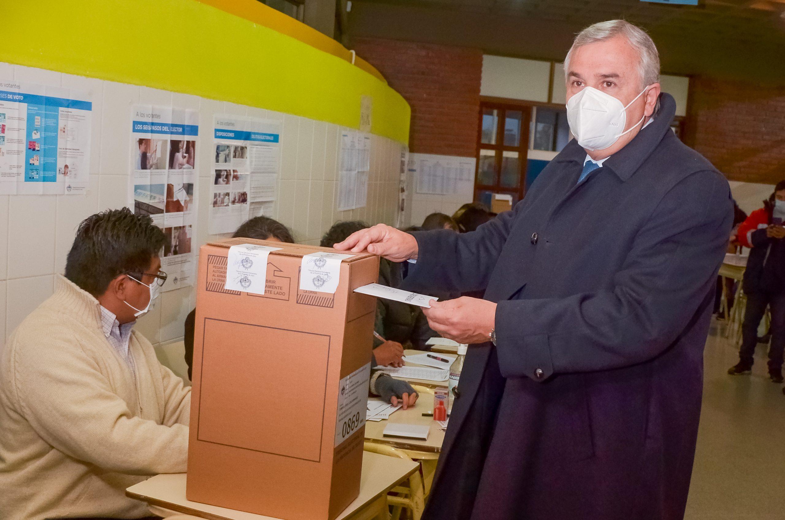 voto del gobernador